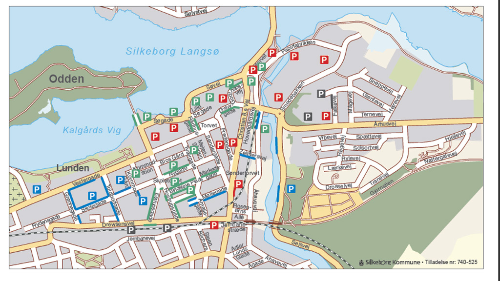Parking in and around Silkeborg | Silkeborg