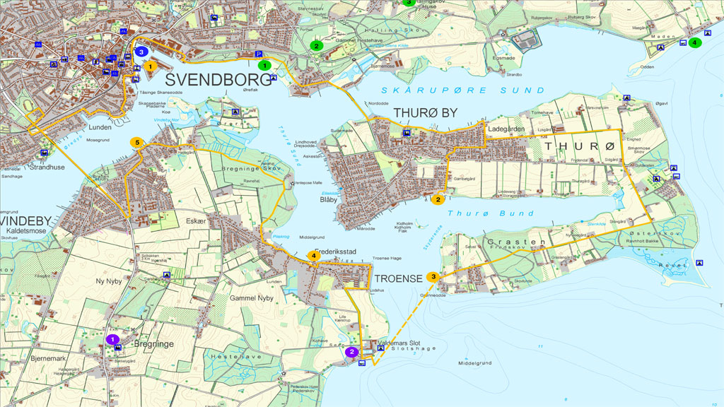 10 Cycling Routes Visitsvendborg