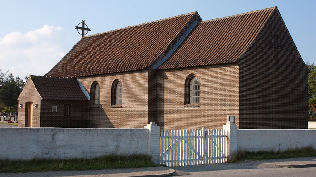 Klitmøller Kirke - Udefra