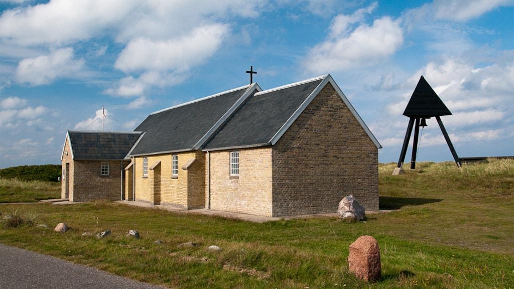 Lild Strand Kirke - Udefra