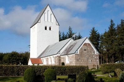 Hjardemål Kirke - Udefra