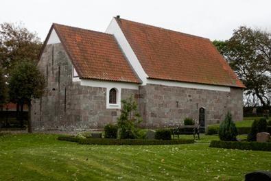 Kåstrup Kirke - Udefra