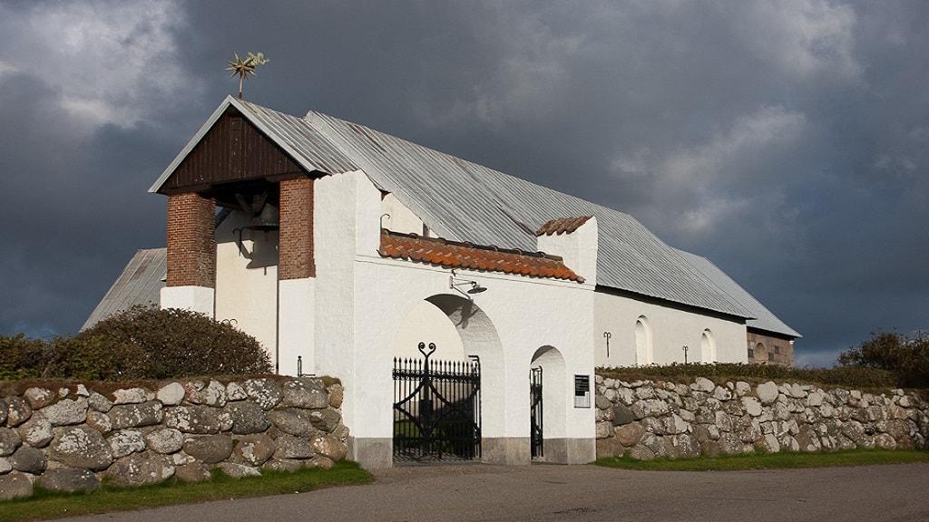Jannerup Kirke - Udefra