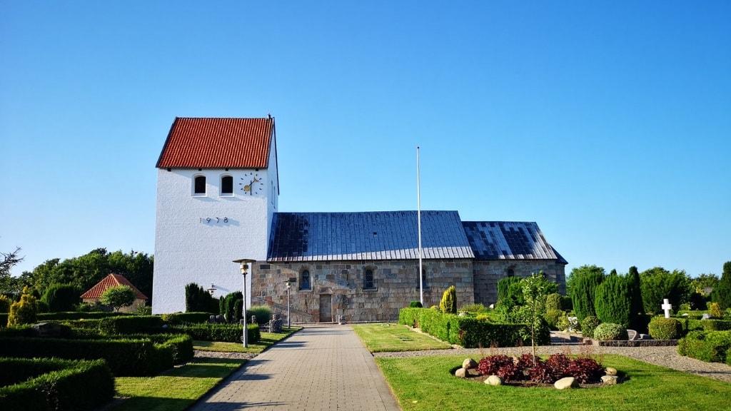 Stagstrup Kirke - Udefra