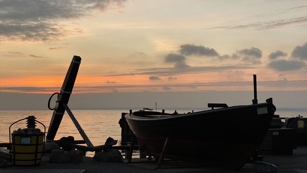 Solnedgang i Lohals