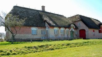 Der Kommandørgård des Nationalmuseums - Rømø