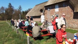 Udstillingen på Naturcenter Tønnisgård - Rømø