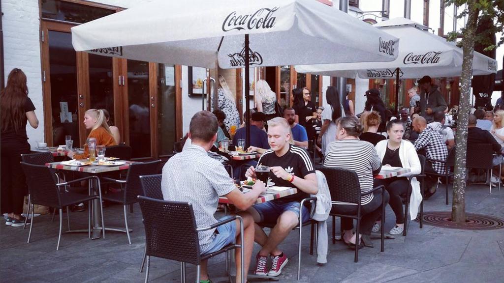 restauranter i herning gågade
