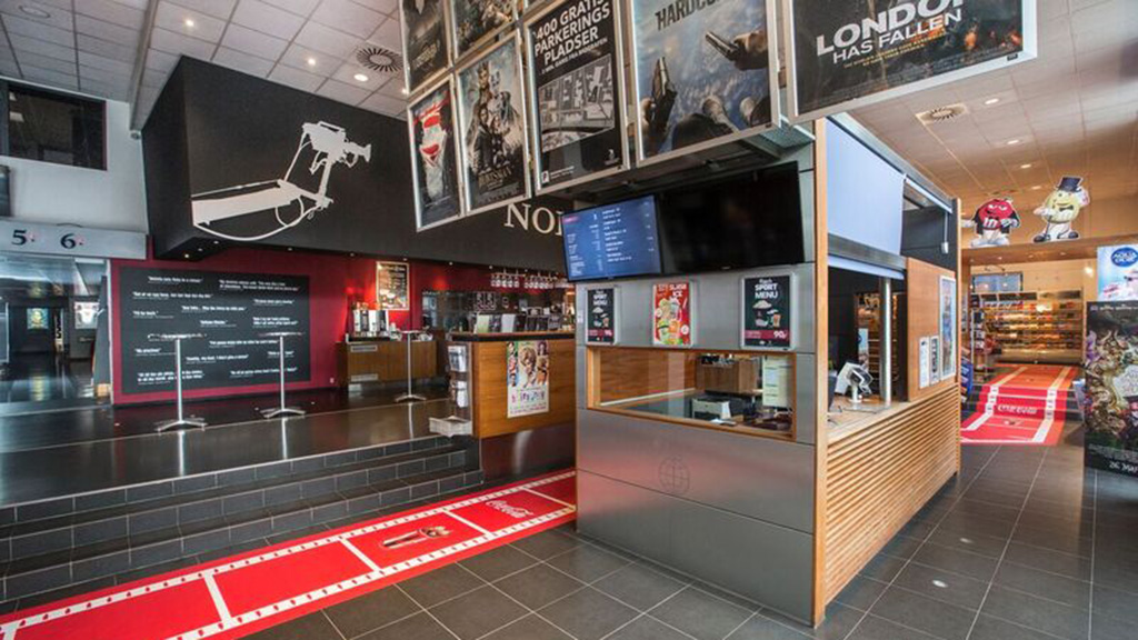 første gang Nordisk Film cinemas herning