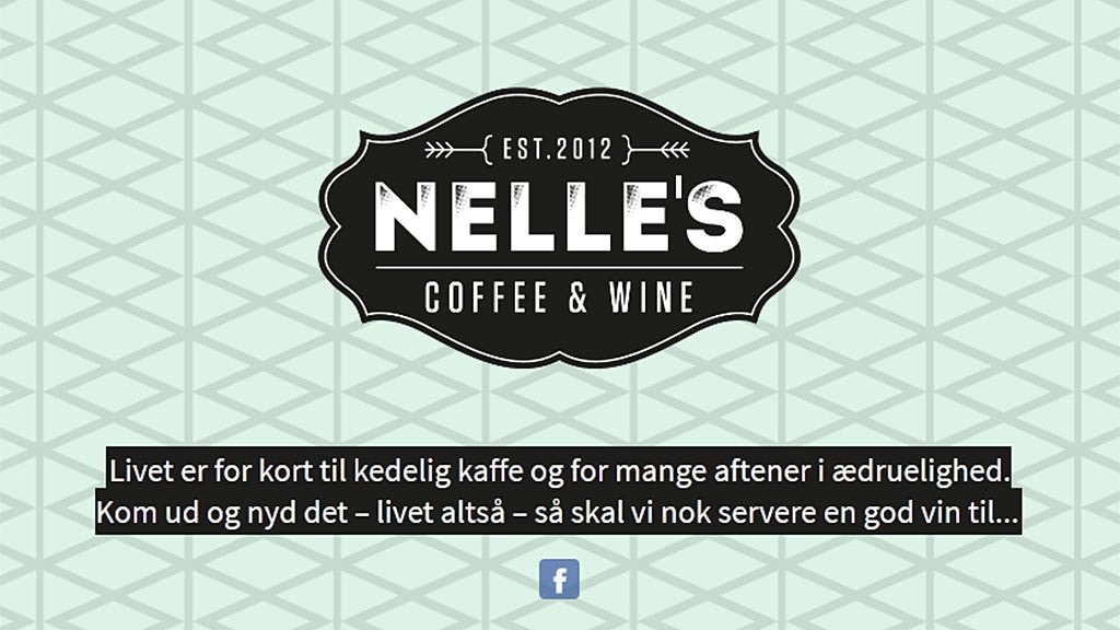 Nelle's Coffee and Wine logo