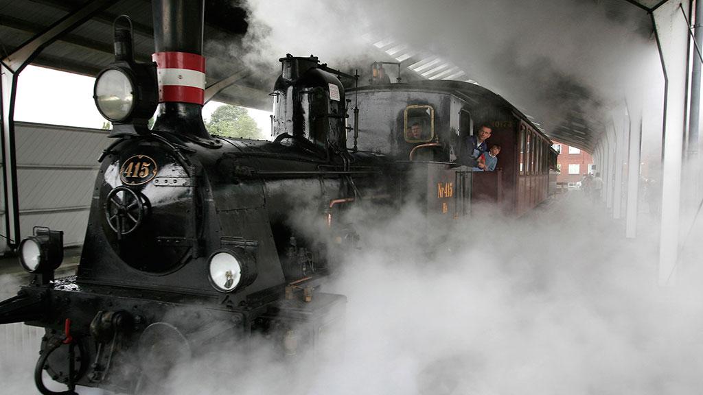 Das Dänische Eisenbahnmuseum Visitodense