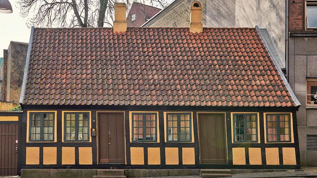 gamle danske ord betydning den gamle bydel i odense