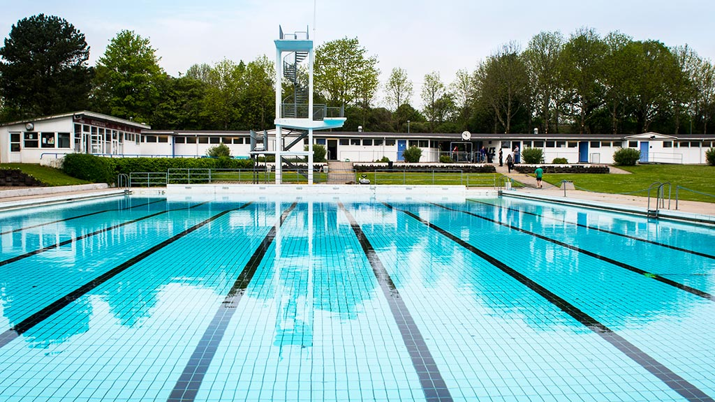 Odense Outdoor Public Swimming Pool Visitdenmark