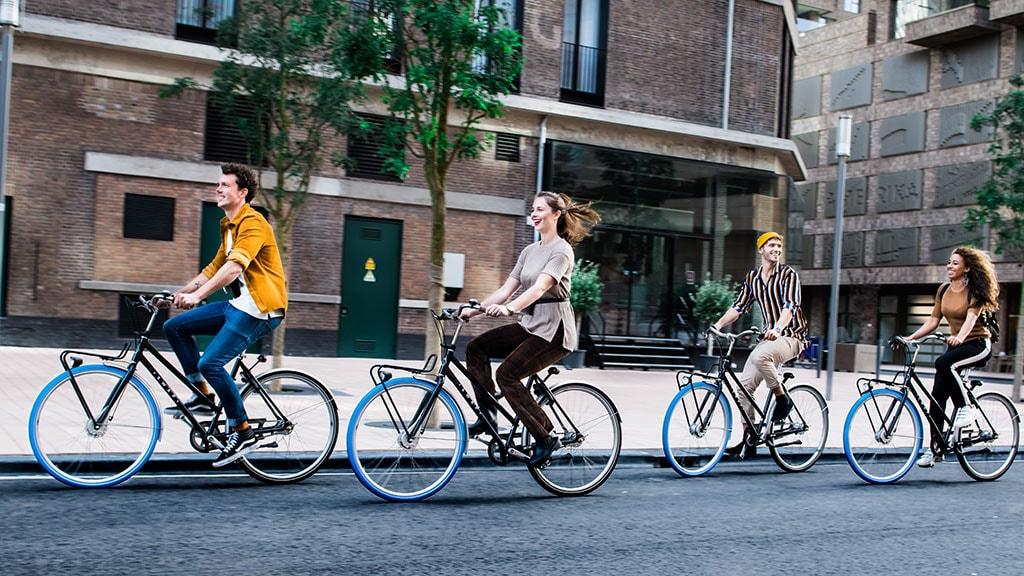 Cyklister på tur