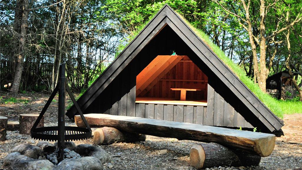 randbøl hede heath kirstinelyst shelters visitvejle