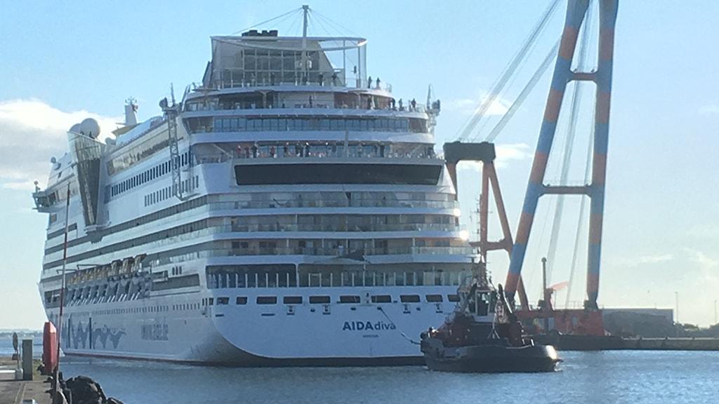 AIDAdiva cruise Aarhus