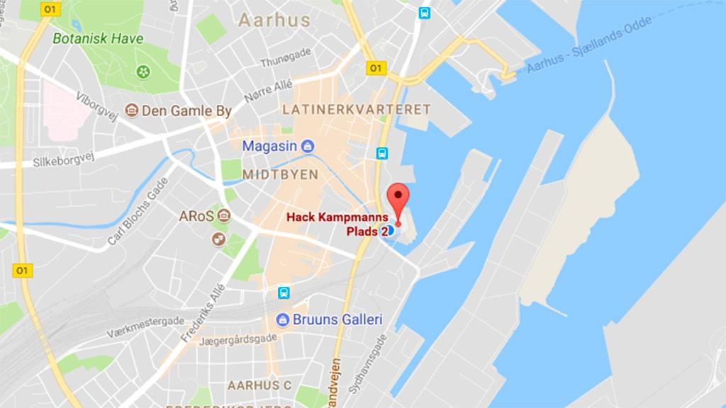DOKK1 Parkering Aarhus C