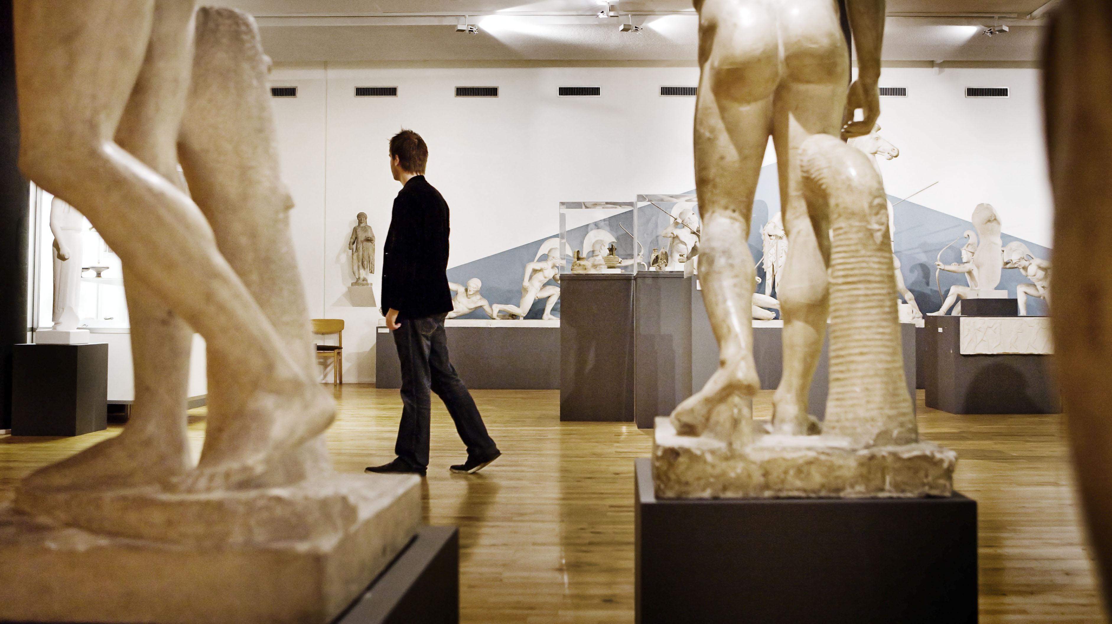 Das Antikmuseum Visitaarhus