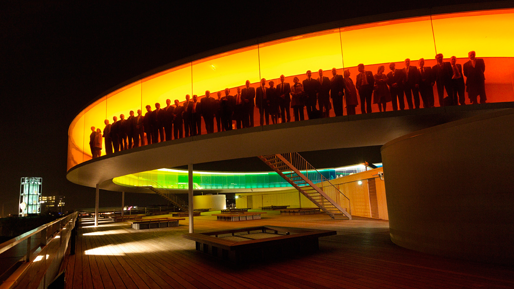© Your rainbow panorama, Olafur Eliasson, 2006 - 2011, ARoS Aarhus Art Museum. Fotograf: Martin Dam Kristensen