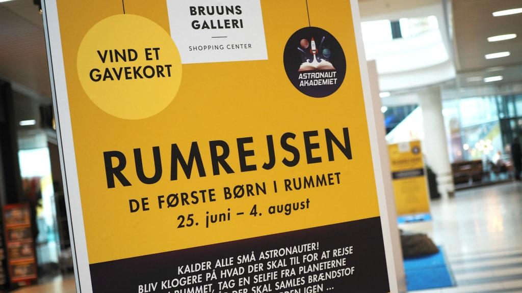 Sommerferie I Bruuns Galleri Visitaarhus
