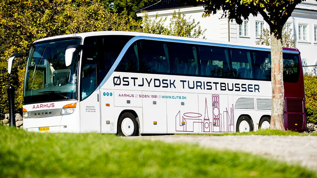 Østjydsk Turistbusser i Aarhus