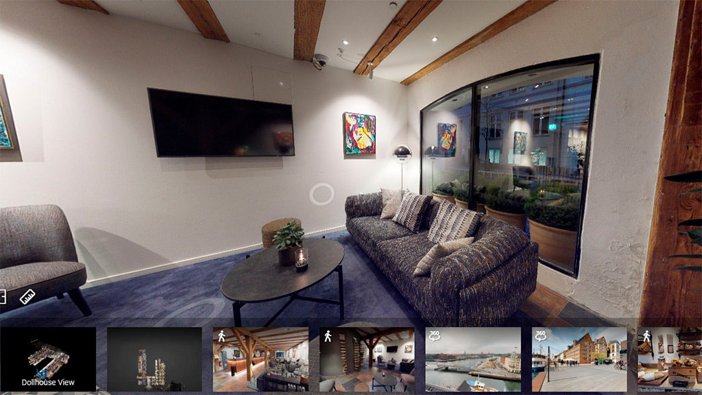 Take a virtual tour at Comwell Hotel Aarhus