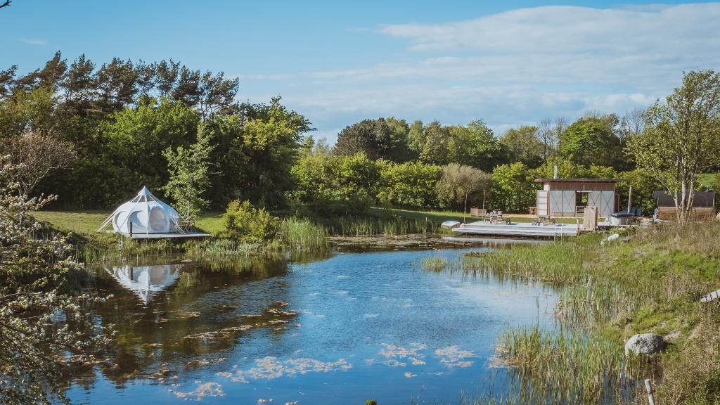Teglværkspladsen | Overnat i telt i Marstal | Visit Ærø