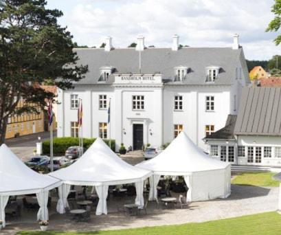 Bandholm Hotel Facade 2
