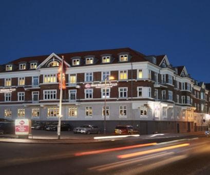Hotel Kronjylland-Facade