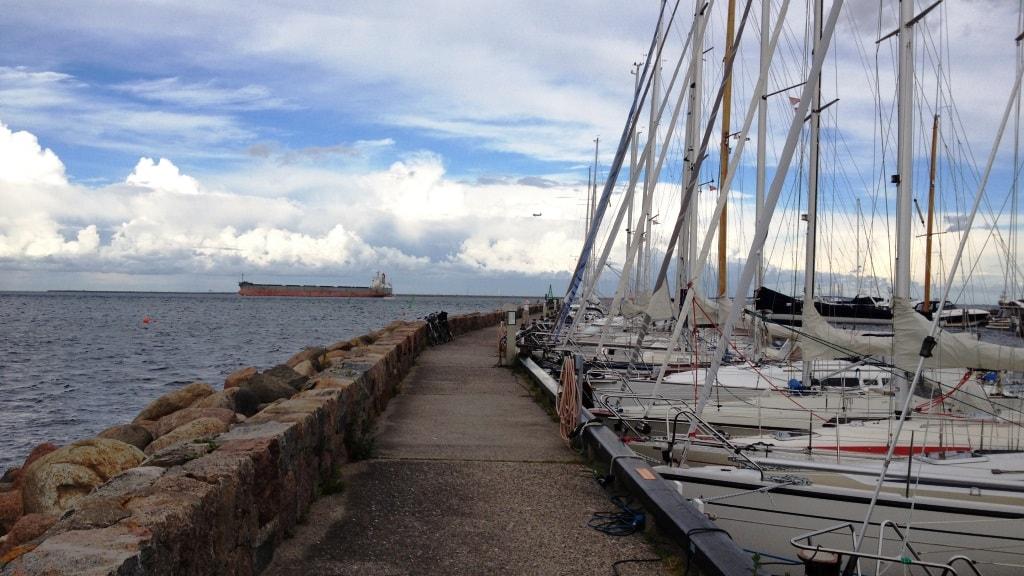Nordre Mole og Lystbåde