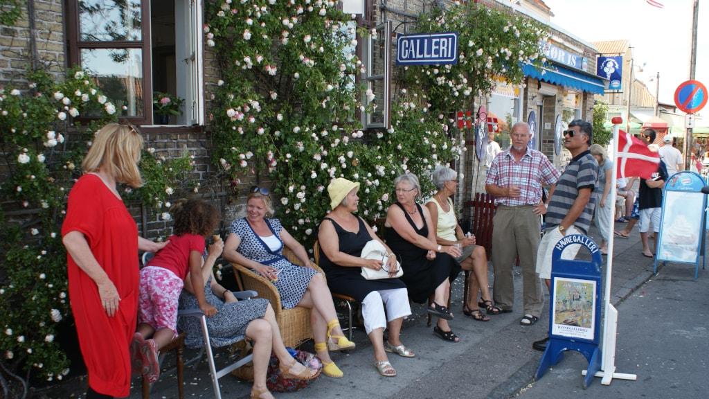 Havnegalleriet Dragør juli 09